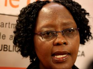 Deputy Minister of Trade and Industry Ms Elizabeth Thabethe. Picture: Thobile Mathonsi.