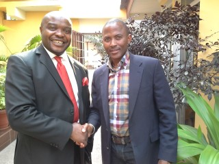 Ntsiki Mashimbye - Ambassador of RSA to the Brazil and Dewhard Mupenda