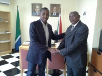 South African Ambassador to Burundi , Mr Oupa Monareng